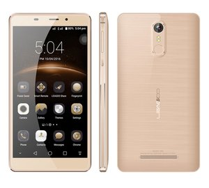 LEAGOO Smartphone M8, 3G, 5.7in. HD, Quad-Core, Gold