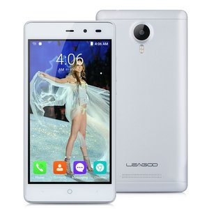 LEAGOO Smartphone Z5 Lte, 4G, 5.0in, Quad Core, WHITE